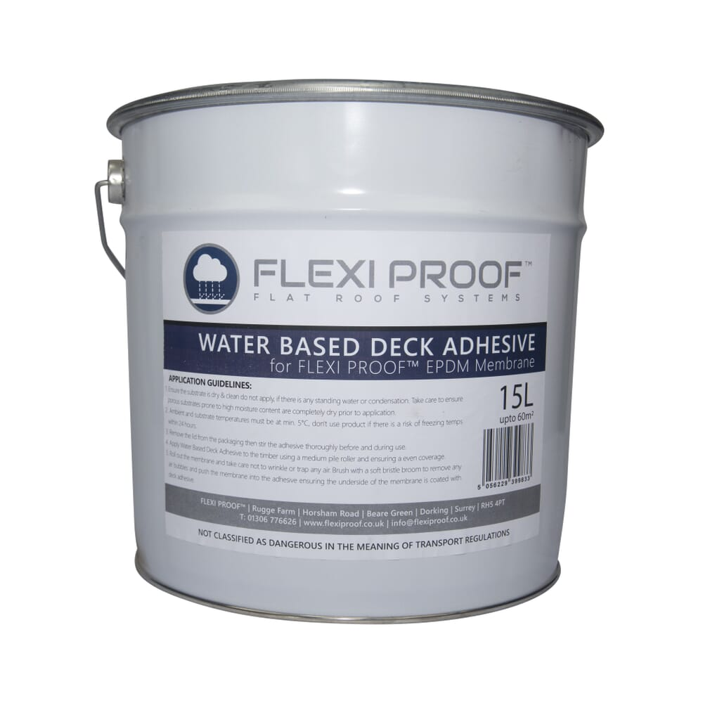 Image 6: Group Flexiproof Water Based Deck Adhesive