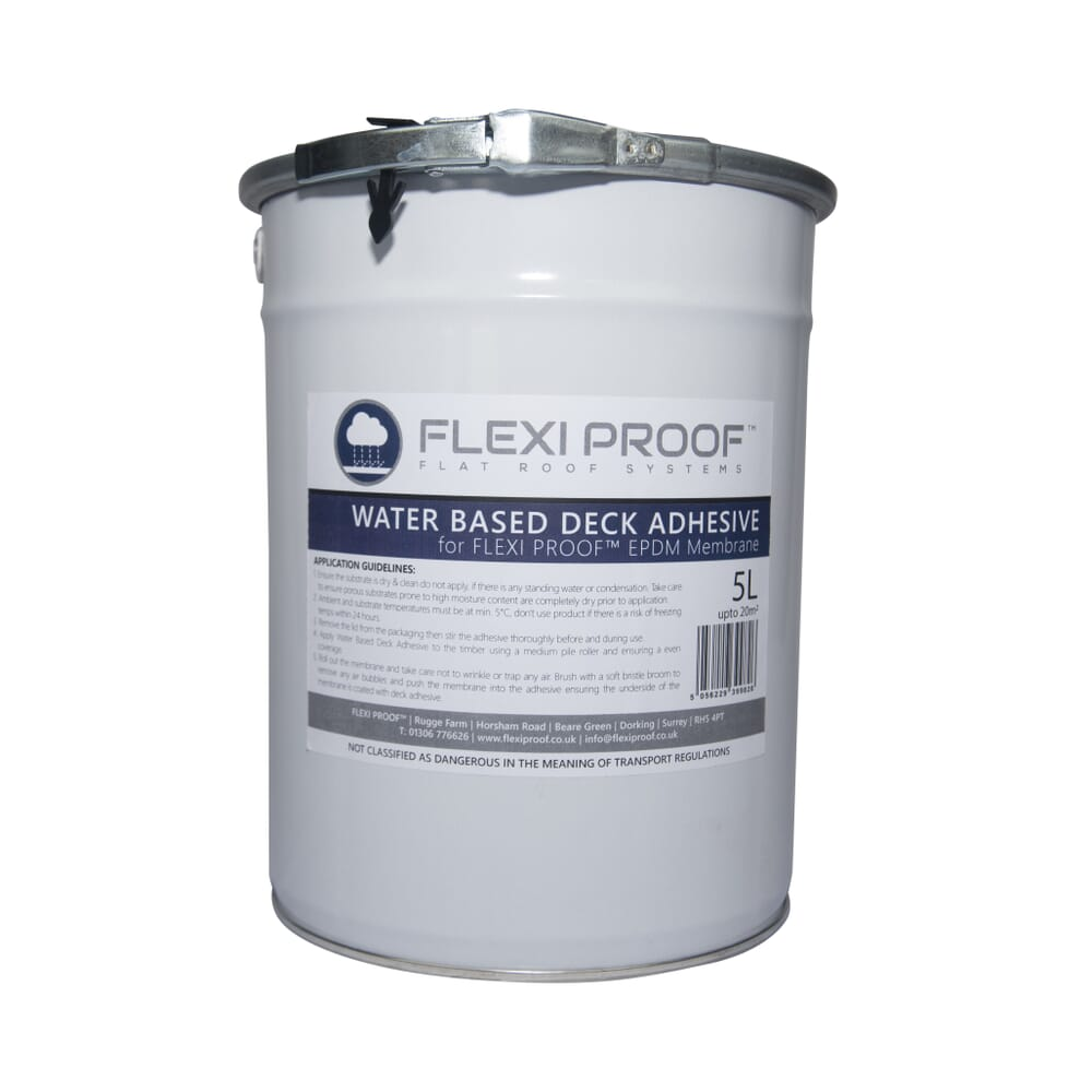 Image 3: Group Flexiproof Water Based Deck Adhesive