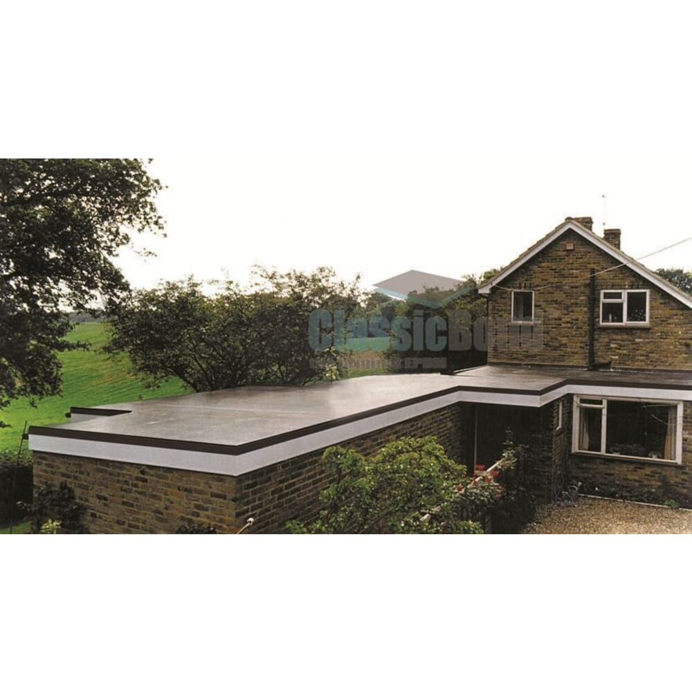 Image 3: Classicbond Epdm Rubber Roofing Membrane One Piece 1.2mm Thick