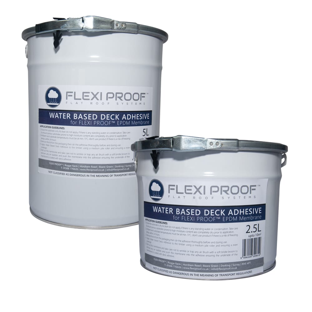 Image 4: Group Flexiproof Water Based Deck Adhesive