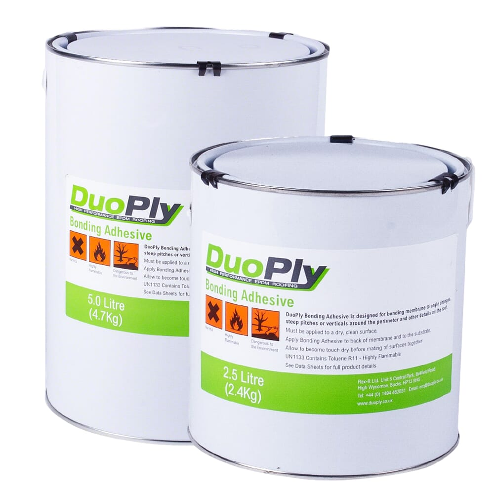 CONTACT BONDING ADHESIVE DUOPLY EPDM RUBBER ROOFING FLAT ROOFS