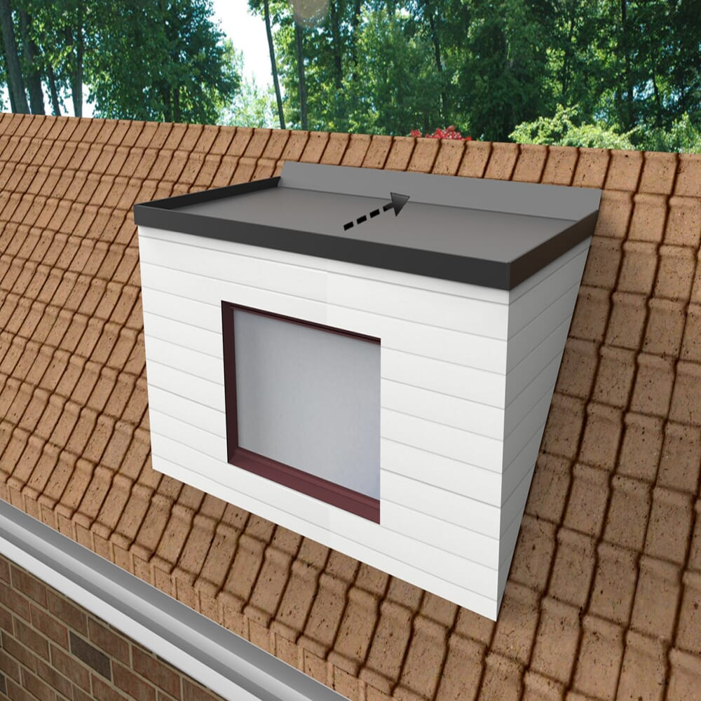 Image 1: Epdm Dormer Roof Kit