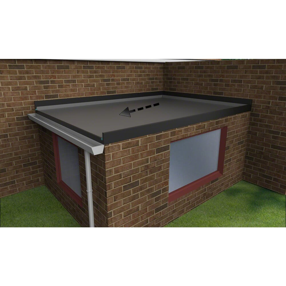 flat roof extension kit
