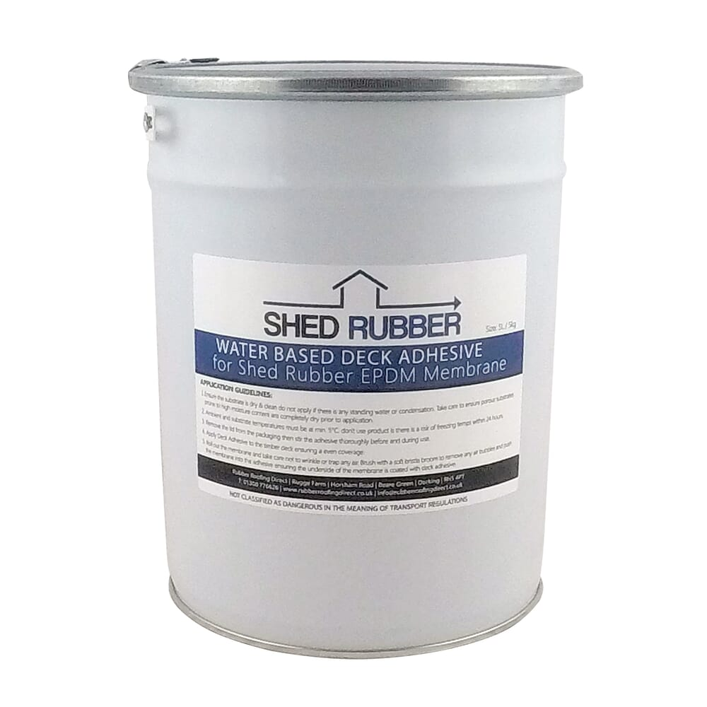 Image 3: Shed Rubber Water Based Deck Adhesive