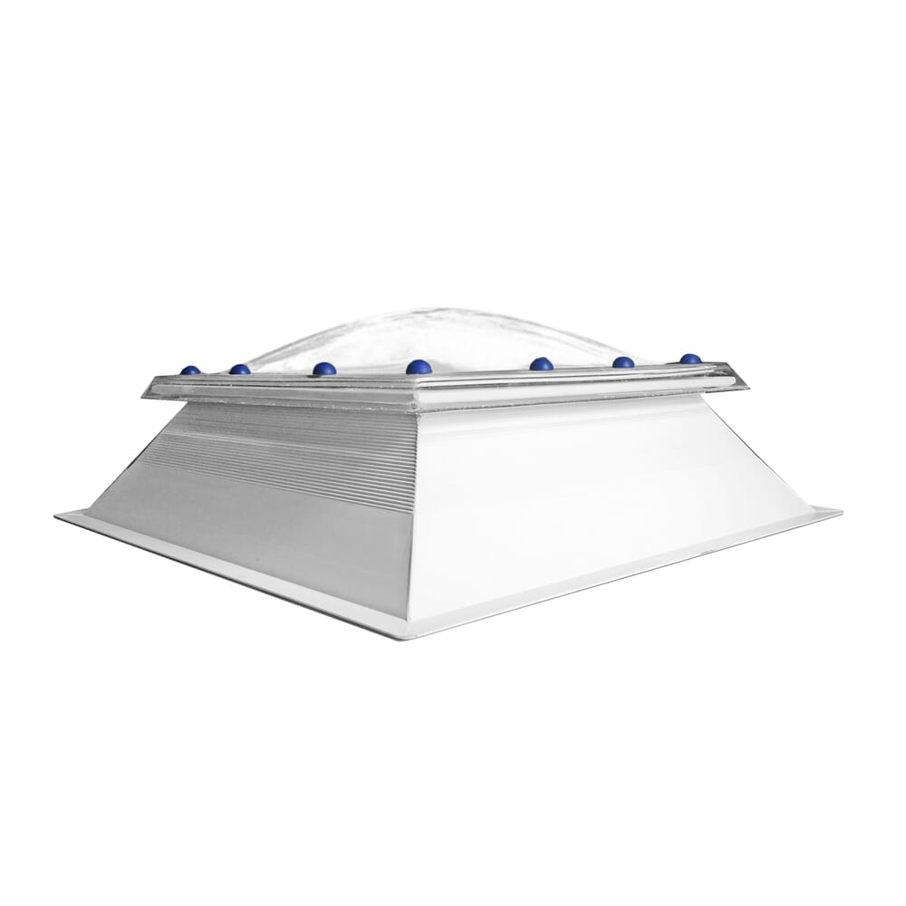 Image 2: Fixed Polycarbonate Rooflight Dome And Kerb
