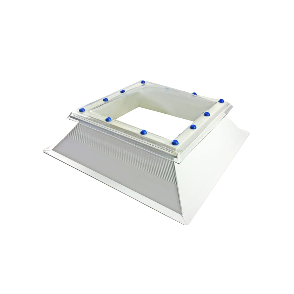 Image 3: Fixed Polycarbonate Rooflight Dome And Kerb