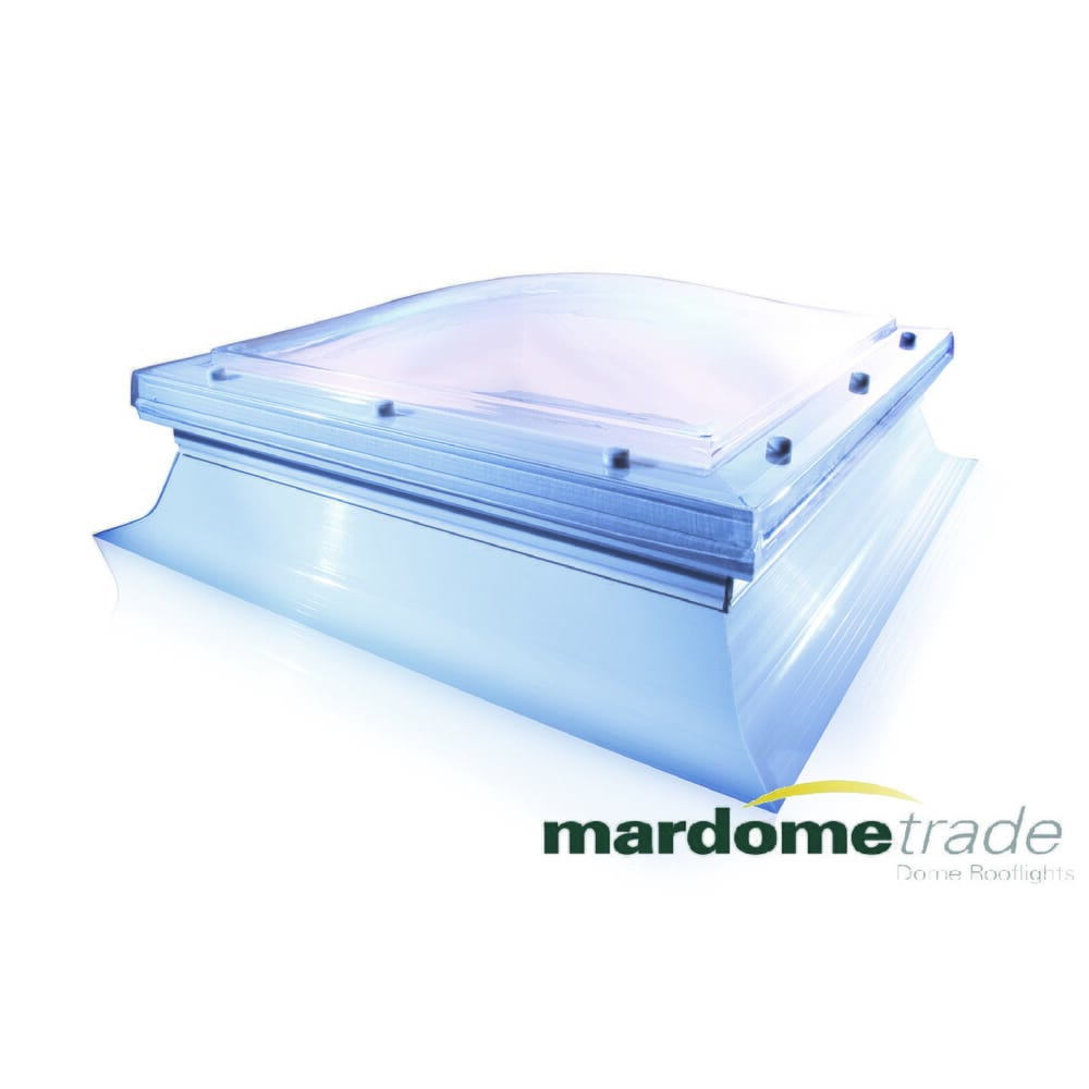 mardome rooflights for flat roofs