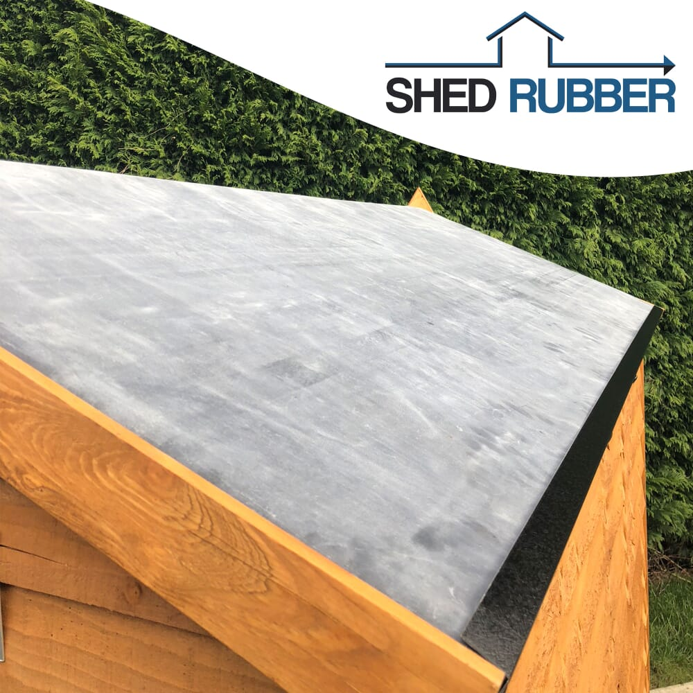 Image 4: Shed Rubber Roof Kit