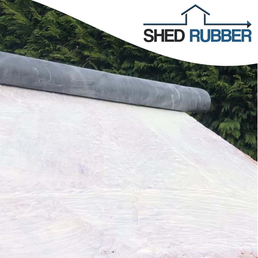 Image 2: Shed Rubber Roof Kit