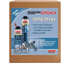 Soudal Soudatherm Roof 250 Combi-Box Contractor Pack