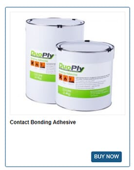 Contact Bonding Adhesive from DuoPly