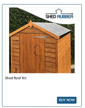 Shed Rubber has shed roofing kits perfect for repairs